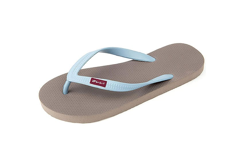 olii fair trade natural flip flop review