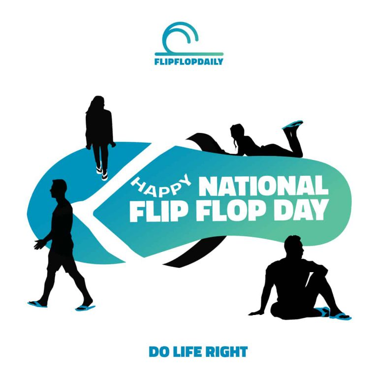 Happy National Flip Flop Day
