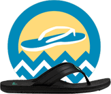 Sanuk Flip flop of the year finalist