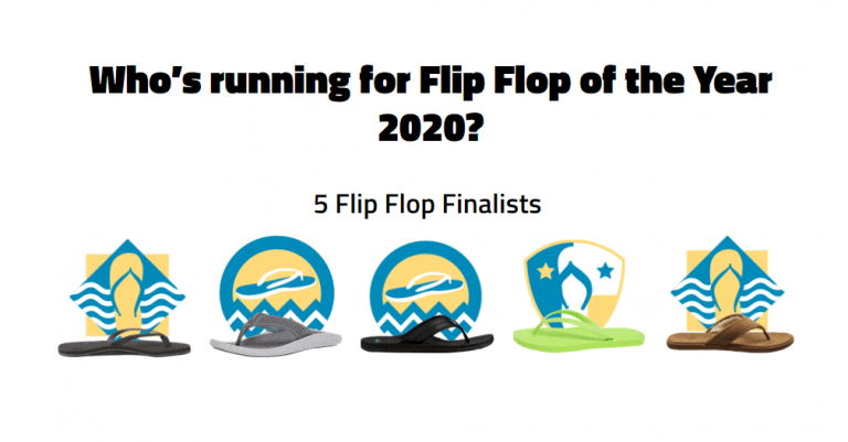whos running flip flop of the year